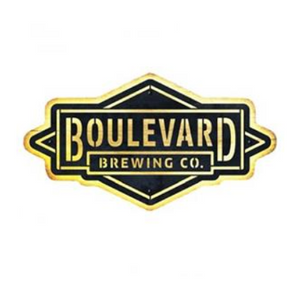 Boulevard LED Wood & Metal Sign with white background