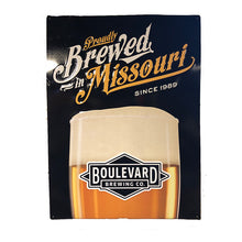 Load image into Gallery viewer, Proudly Brewed In Missouri Tin Tacker