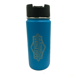 Hydro Flask 16 oz Pacific white back