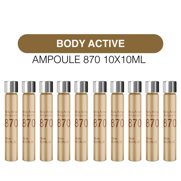 BODY ACTIVE AMPOULE 870(10X10ML) [EQE870S-0] - MCO2.0 SUPER DEAL