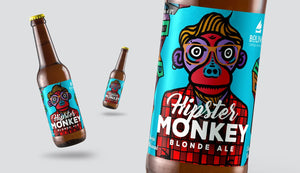 HIPSTER MONKEY - Blonde Ale