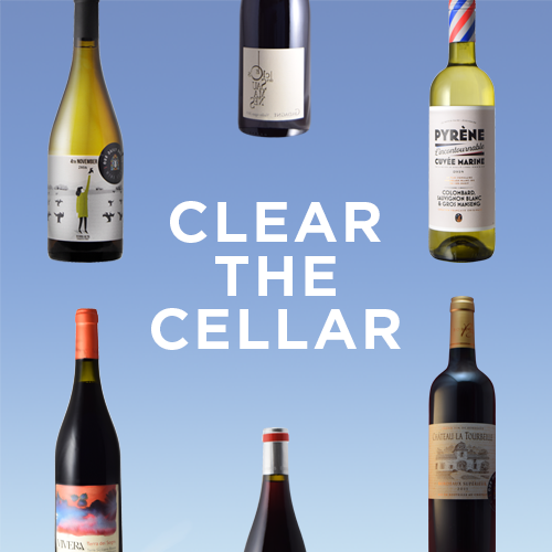 Clear the Cellars Mega Sale