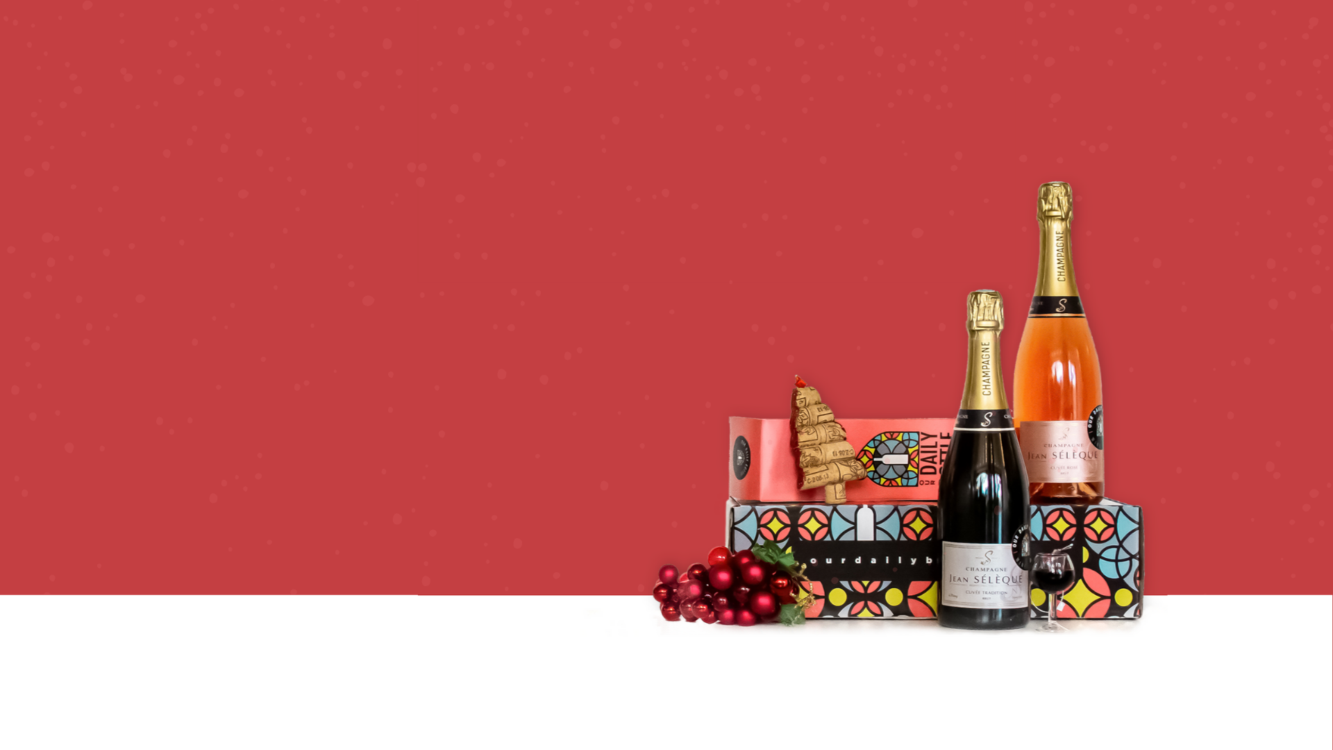 IT's 2020. We're only giving wine as a gift this year.