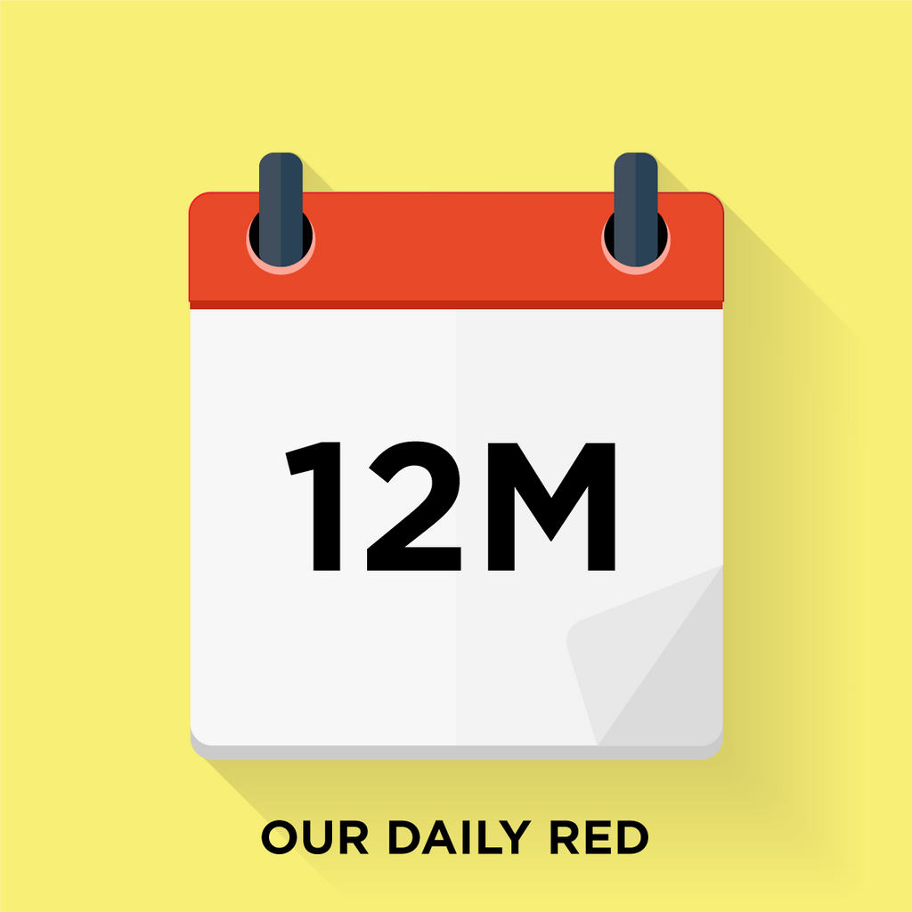 Our Daily Red - 12 Month Gift Prepay