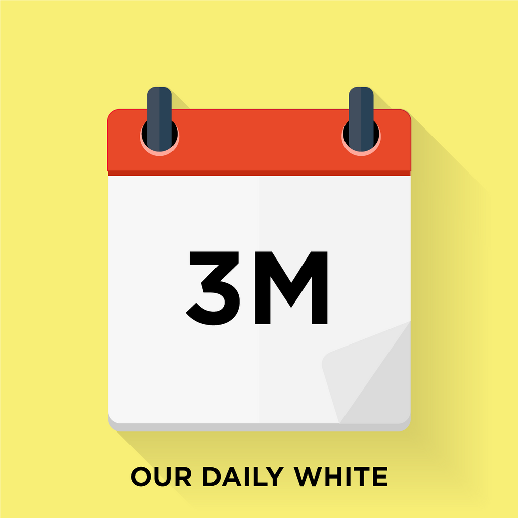 Our Daily White - 3 Month Gift Prepay