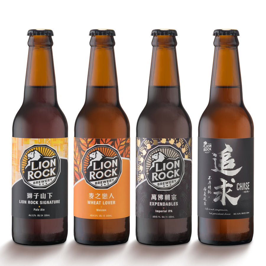 Brewer choice (4 bottles)