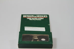 Benson & Hedges Vintage Sunglasses