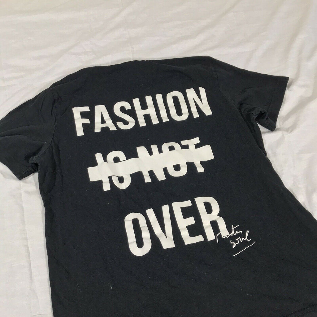 BBP Mens Graphic Printed Casual Graphic T-Shirt Top Size M Fashion Is Not Over