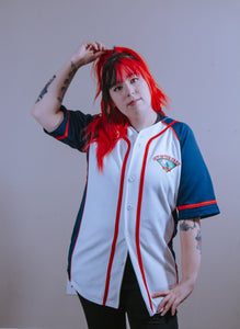 Out Of The Park Pizza Baseball Jersey