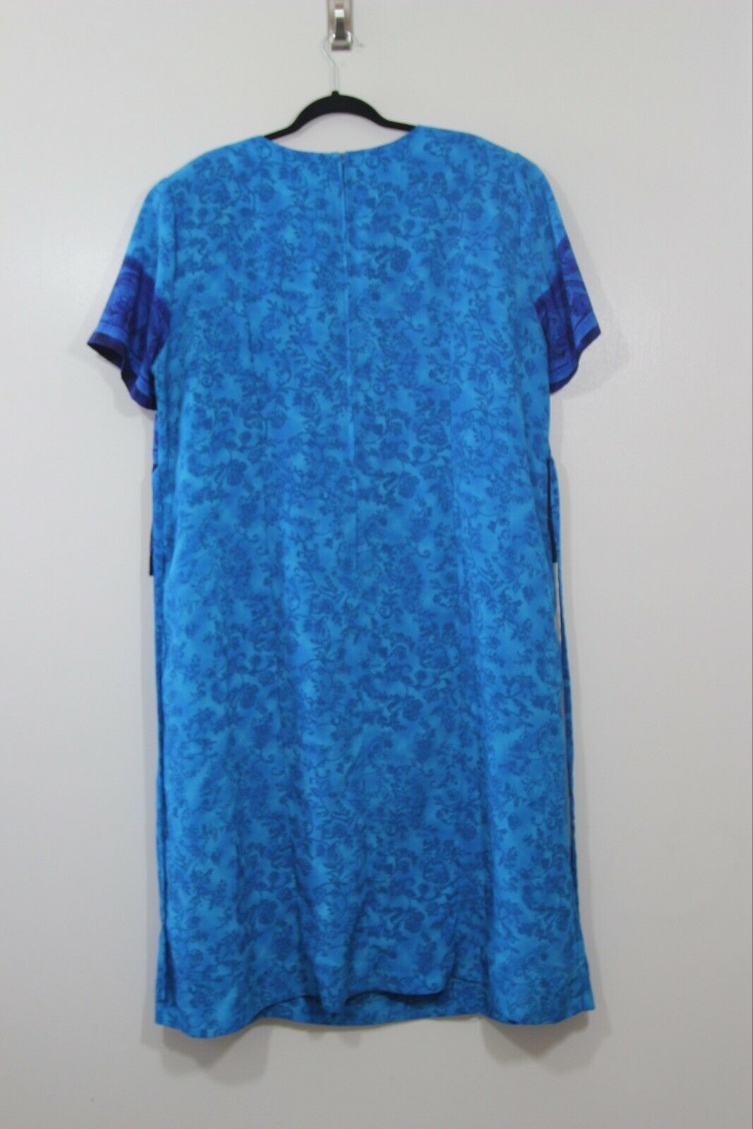 STUDIO C Short Sleeve Dress ~ Attached Top Over Dress ~ Size 22w