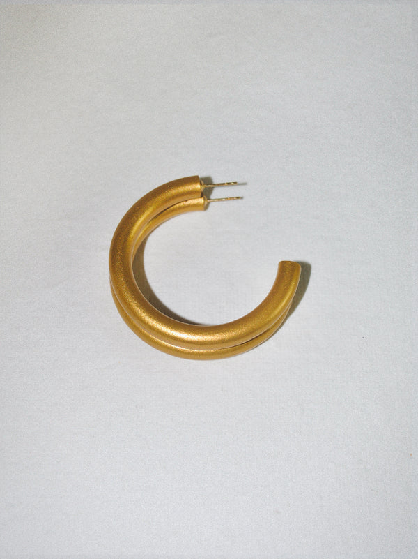 Champagne Small Hoop