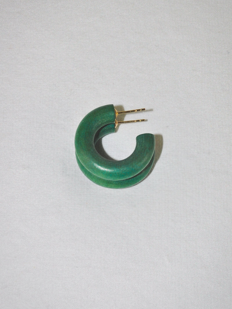 Moss Green Mini Hoop