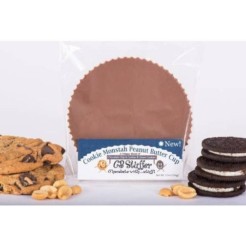Cookie Monstah - Milk Stuffer Peanut Butter Cups