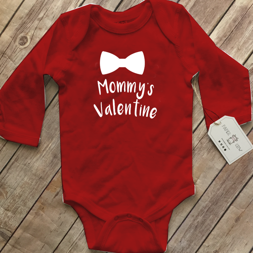 Mommy's Valentine Bodysuit