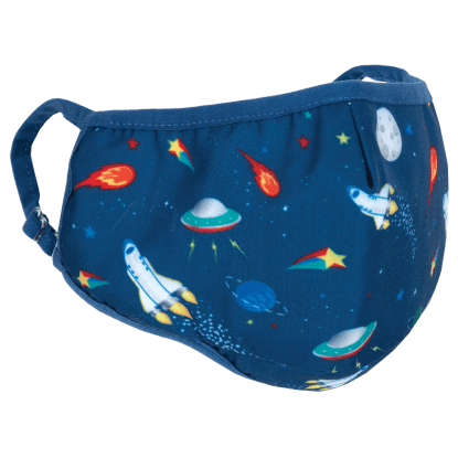 SPACE FACE MASK - CHILDREN'S SIZE