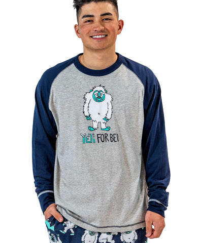Yeti for Bed PJ Tee