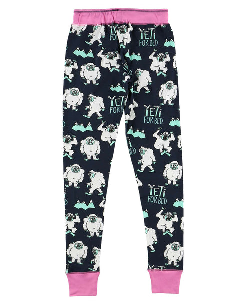 Yeti for Bed Womens PJ Legging