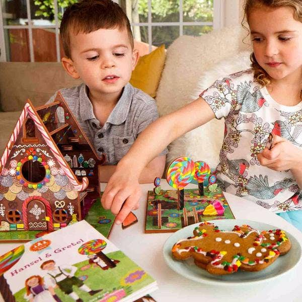 Hansel & Gretel Book and Play Set