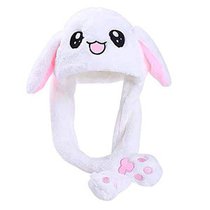 Bunny Hat with Moveable Ear