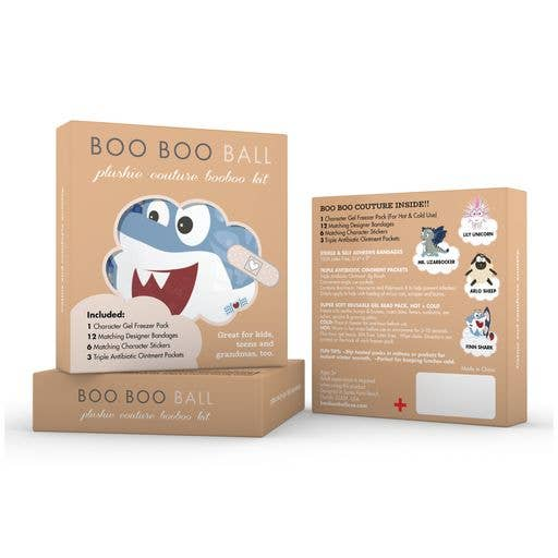 Refill Kit / Mini Boo Boo Kit - Finn Shark