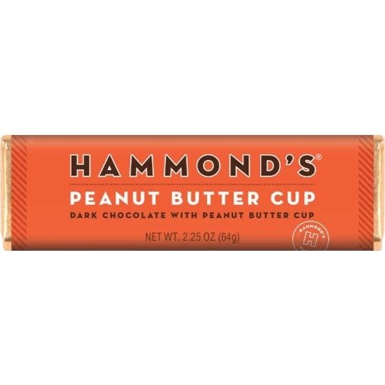 Peanut Butter Cup Dark Chocolate Candy Bar 2.25ozs