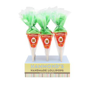 Easter Carrot Orange Cream Lollipop