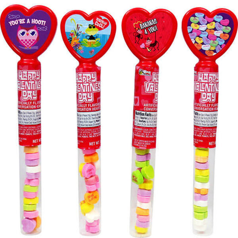 Conversation Candy Hearts Tubes