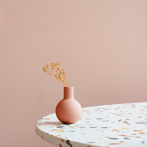 Collar Vase 7cm Pale Peach