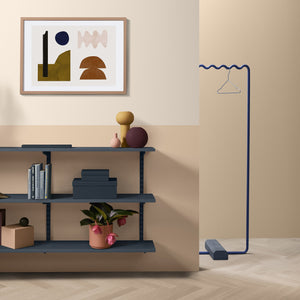 Sine Hanger Medium Blue