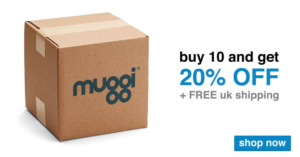 buy 10 muggi and get 20% off