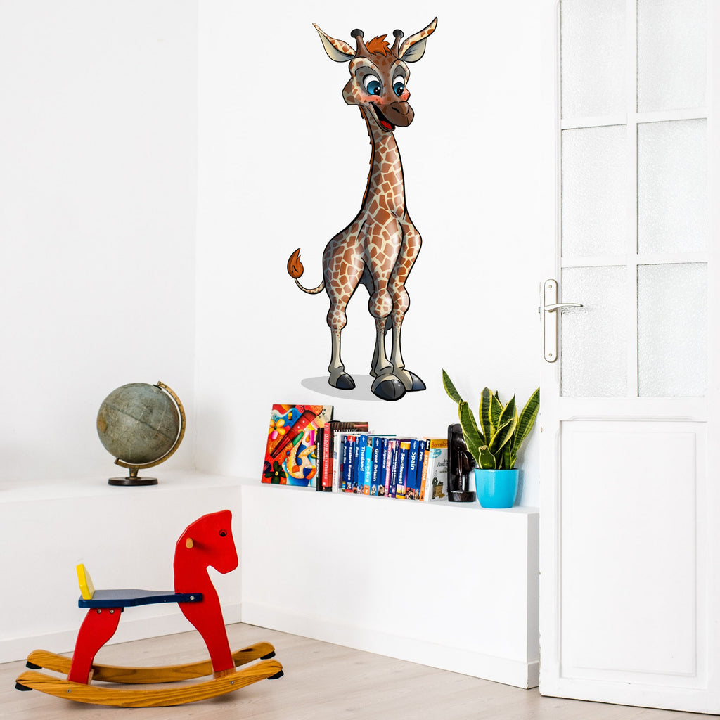 Animal Safari - Giraffe - Wall Decal - Tiny Dream Factory