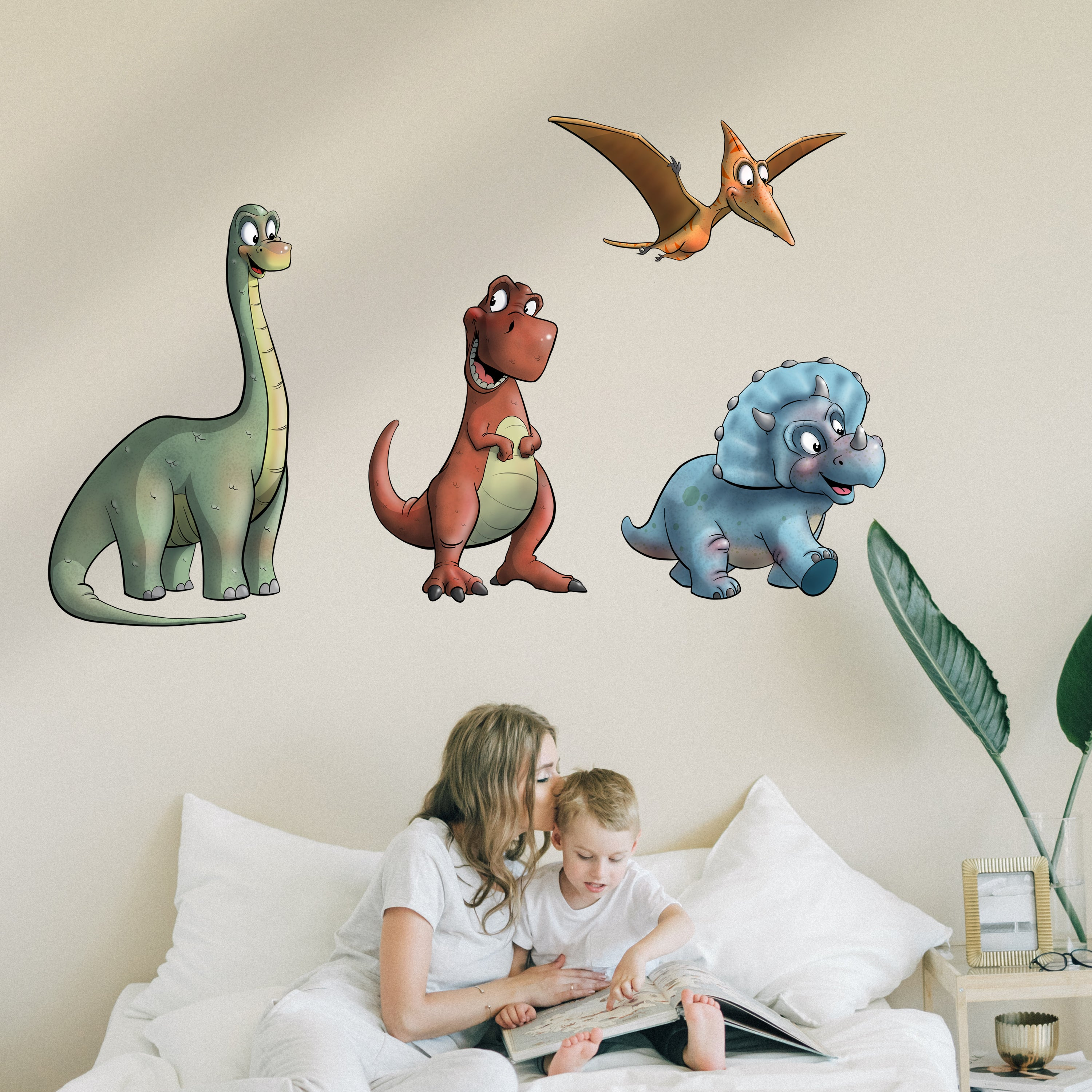 Dino - Triceratops - Wall Decal