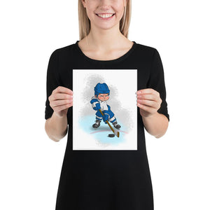 Open image in slideshow, Hockey Player - 1 - Tiny Dream Factory