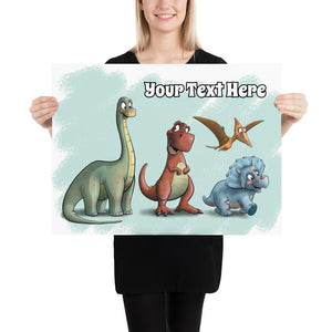 Open image in slideshow, Dino Collection (Custom Print) - Tiny Dream Factory