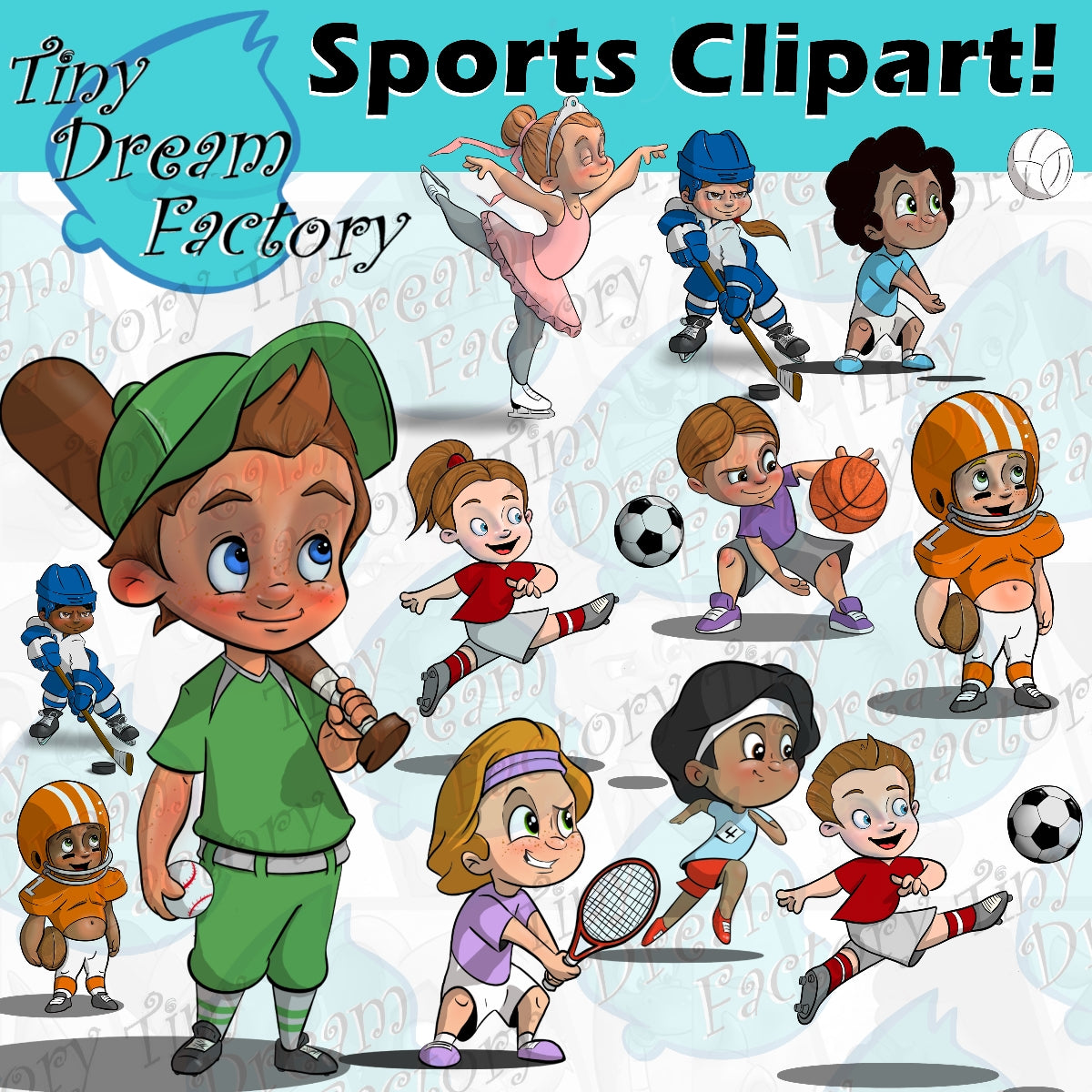 Sports & Athlete Clipart!