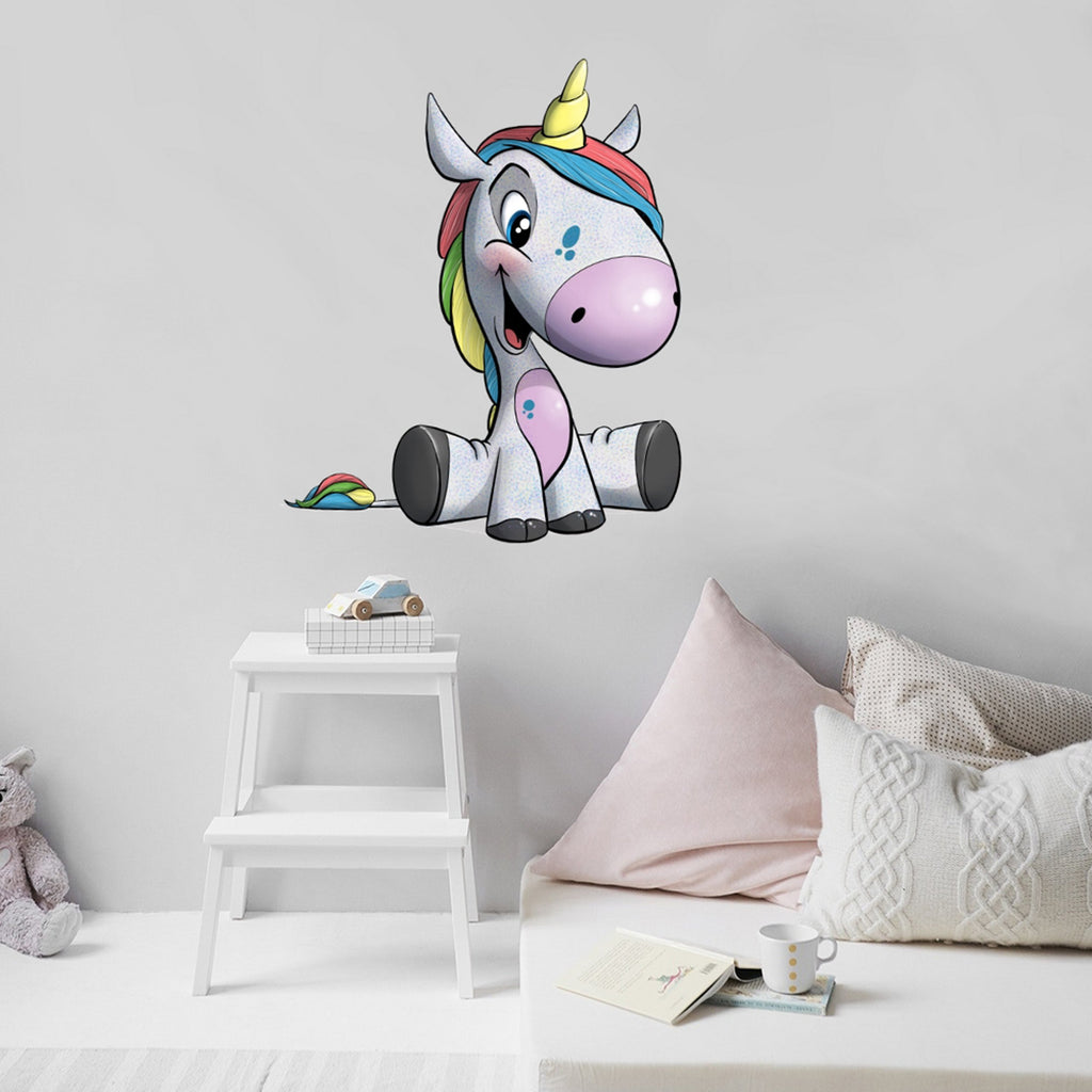 A Fairy Tale - Unicorn - Wall Decal - Tiny Dream Factory