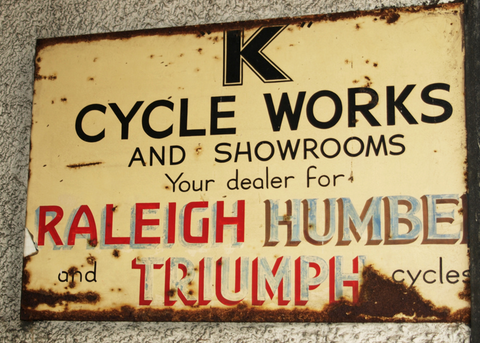 K Cycle Works Sign Kendal