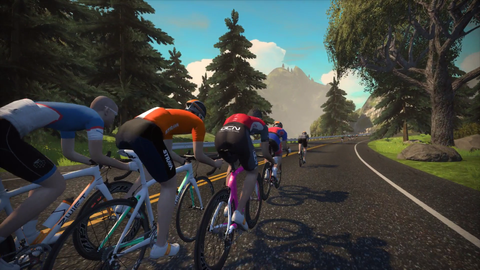 Use Zwift anytime in the studio