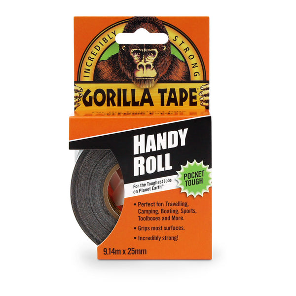 Gorilla Tape Handy Roll 9.14m x 25mm - Mapdec Cycle Works