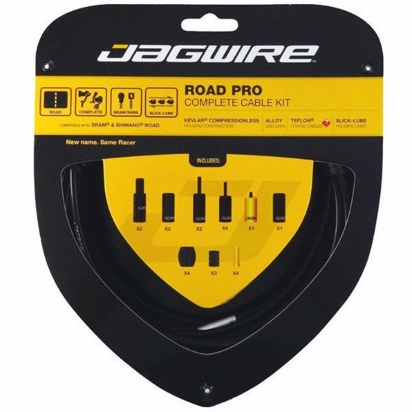 Jagwire - Road Pro Brake/Gear Kit - SRAM/Shimano Road - Mapdec Cycle Works