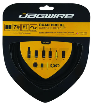 Jagwire - Road Pro Brake/Gear Kit - XL - SRAM/Shimano/Campagnolo Road - Mapdec Cycle Works