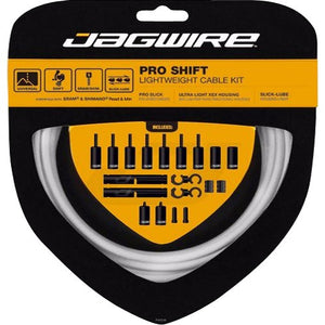 Jagwire - Pro Shift Lightweight Cable Kit - Mapdec Cycle Works