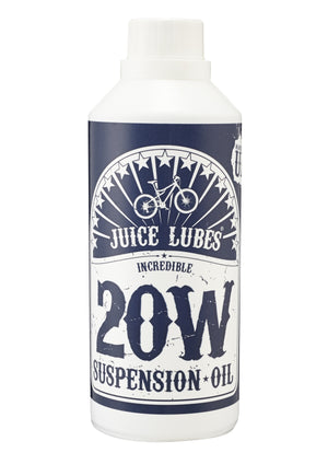 Juice Lubes - Suspension Fork Oil- 500ml - 2.5 to 15w - Mapdec Cycle Works