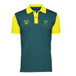 AOC Sports Climbing Adults Green Supporter Polo