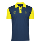 AOC Sports Climbing Adults Navy Supporter Polo
