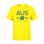 AOC Sports Climbing Adults Gold Supporter Tee