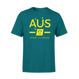 AOC Sports Climbing Kids Green Supporter Tee