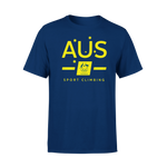AOC Sports Climbing Adults Navy Supporter Tee