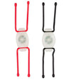 TwistLit™ LED Bike Light - 2 Pack - Red & White