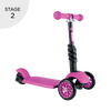 Y-Volution YGlider 3 in 1 Black/Pink
